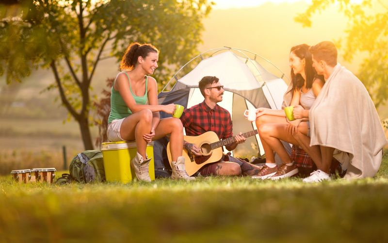 Lass die Seele baumeln: Camping in Dänemark!